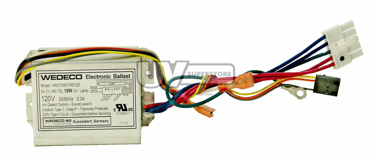 Aq36926 Replacement Electronic Ballast 120v 50 60hz
